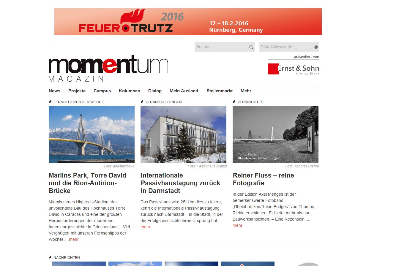 momentum magazin